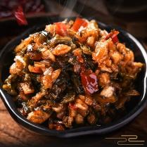 新品美食香辣外婆菜梅干菜即食开胃下饭菜萝卜干咸菜酱菜湘西湖南