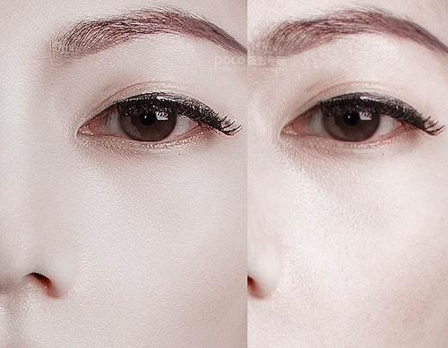 Photoshop完美质感人物磨皮技巧 磨皮美容 广西摄影网